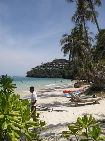 Cape Panwa Hotel: the beach at Cape Panwa