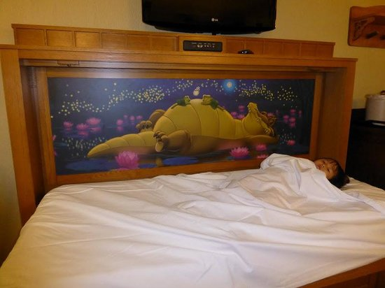 Disney&#39;s Port Orleans Resort - Riverside: Cute little murphy bed