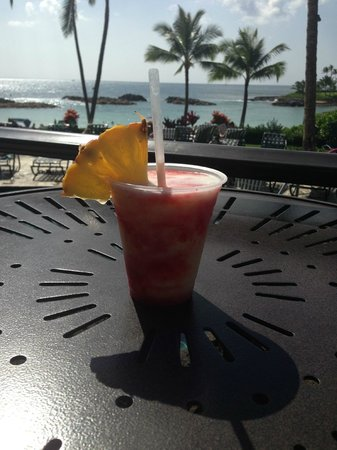 Marriott's Ko Olina Beach Club: yummy, lava flows!!!!