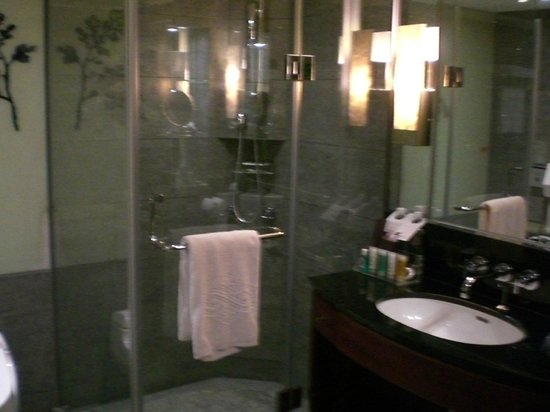 Sheraton Grande Taipei Hotel: Shower and sink area