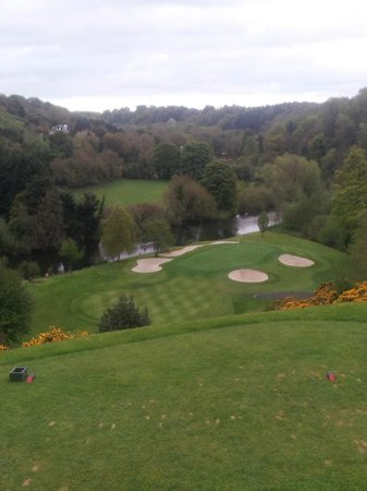 Lucan, Irland: Signature 10th from tee-box