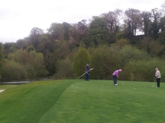 Lucan, Irlanda: Out on the course