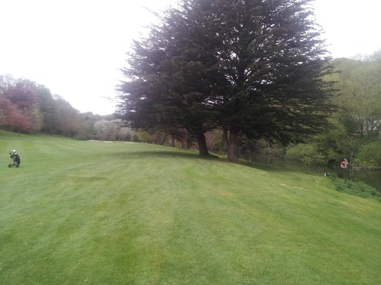Lucan, Irland: On the course