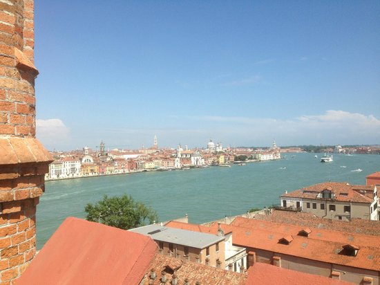 Hilton Molino Stucky Venice Hotel: View from Sky Lunch / Bar