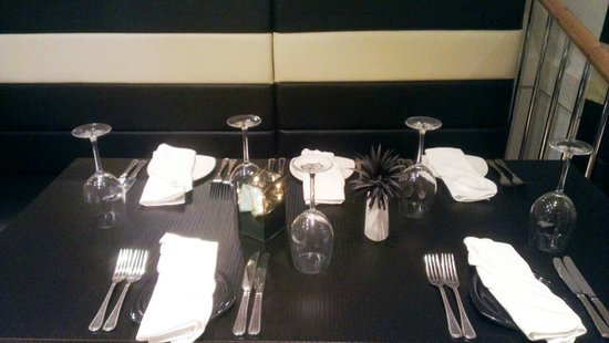 Felixstowe, UK: Table Setting