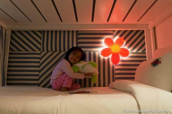 Hard Rock Hotel Bali: Little A loves her room