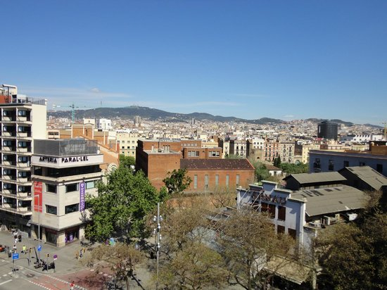 Tryp Barcelona Apolo: view from the 6th floor