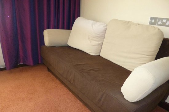 Letterkenny, Ireland: our 15 euro sofa..
