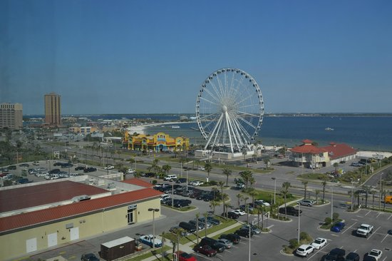 Holiday Inn Resort Pensacola Beach Gulf Front: View from the room