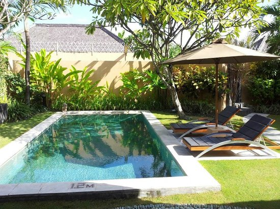 Mutiara Bali Boutique Resort &amp; Villas: Pool in the 1 bedroom villa