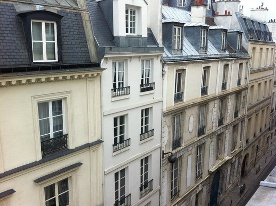Hotel de l'Academie: View from the room 503
