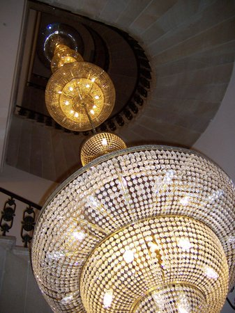The Bonerowski Palace: The longest chandelier in Europe