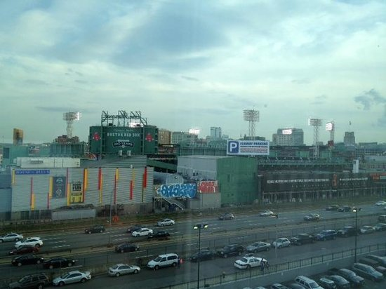 Hotel Commonwealth: View of Fenway Park from rear of hotel