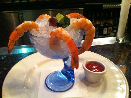 Edgewater, Nueva Jersey: shrimp cocktail