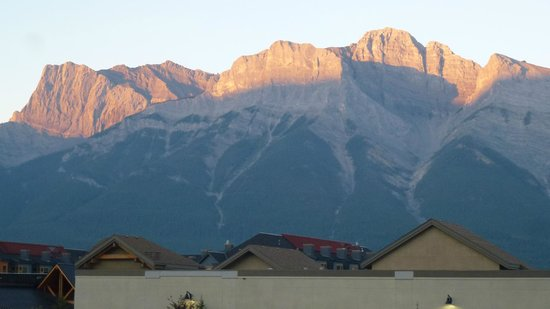 Ramada Canmore: View from the room