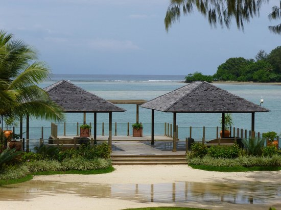 Warwick Le Lagon Resort &amp; Spa, Vanuatu: Gazebo - where the weddings take place