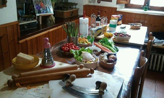 Peccioli, Italien: Tuscan cooking class at Licia&#39;s