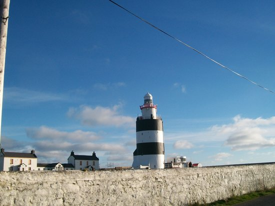 Wexford, Irlande : hookhead lighthouse