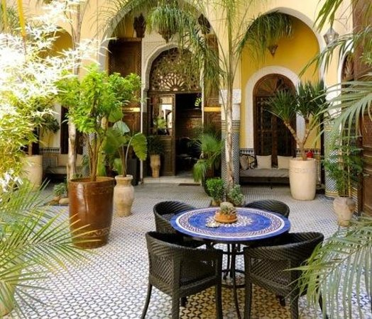 Riad Le Calife: Le patio