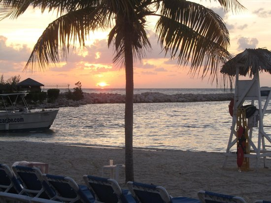 Riu Montego Bay Hotel: another glorious sunset