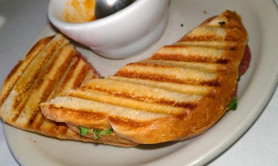Hamilton, TX: Tasty grilled panini