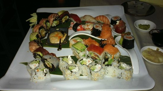 Sesto San Giovanni, Italie : Sushi, Temaki, Nigiri, Uramaki... 