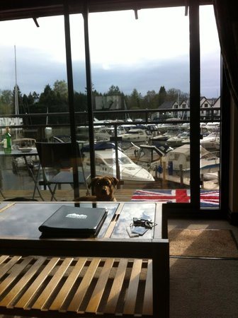 Windermere Marina Village: View from the lounge in cottage 17