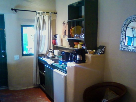 Las Palomas Inn Santa Fe: Kitchenette