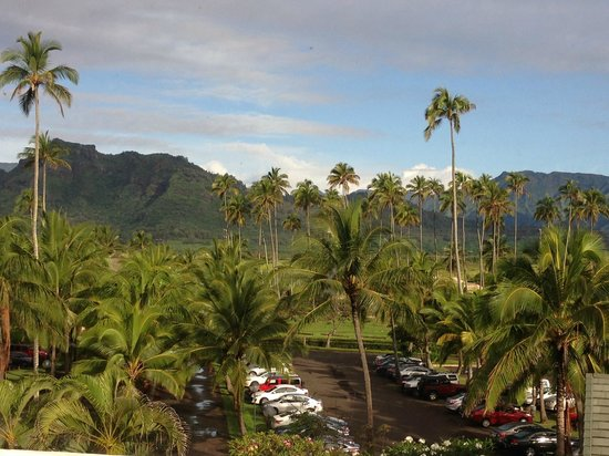 Courtyard by Marriott Kauai at Coconut Beach: view