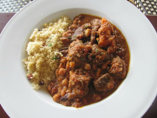 Maleny, Australie : Moroccan lamb tagine 