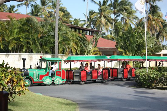 Grand Palladium Punta Cana Resort & Spa: Bimmelbahn