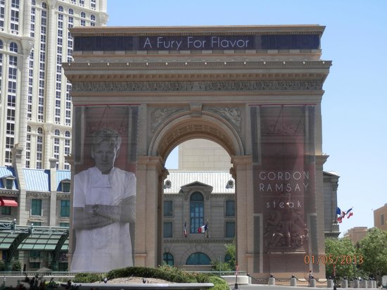 Excalibur Hotel &amp; Casino: The French Quarter where Gordon Ramsey has his restaurant