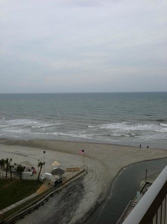 Westgate Myrtle Beach Oceanfront Resort : Ocean View from our room