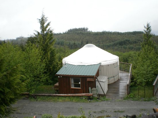 Port Renfrew, Canada: The Yurt of the Setting Sun
