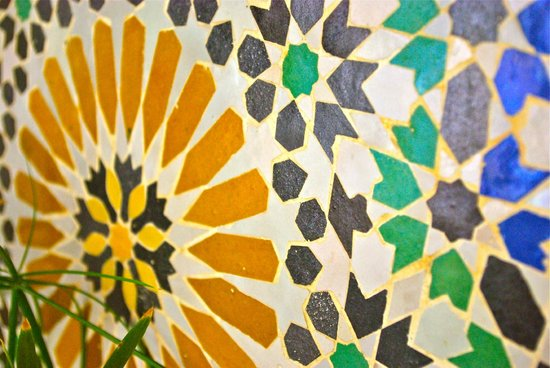 Riad Abaca Badra: The beautiful wall designs