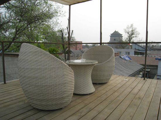 The Orchid Hotel: roof terrace