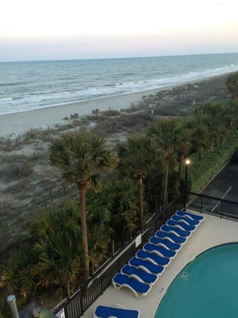 Surfside Beach Resort: View from our room.