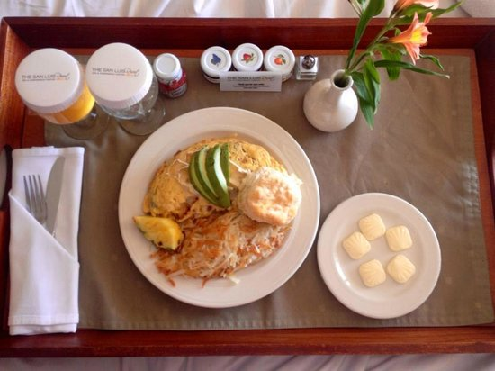 The San Luis Resort: The Omlet San Luis...OMG, soooo yummy!!!