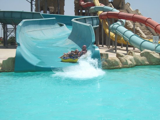 Tirana Aqua Park Resort: 1 of the amazing water slides