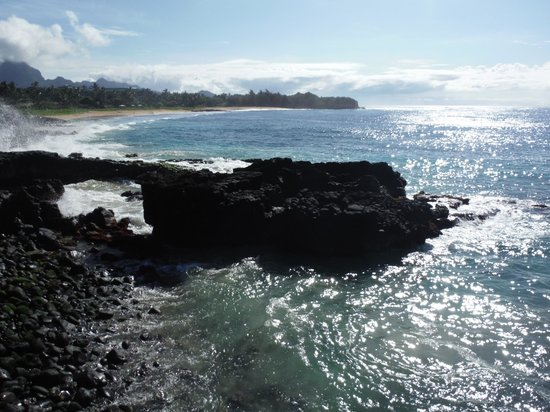 The Point at Poipu: Shipwreck Beach.