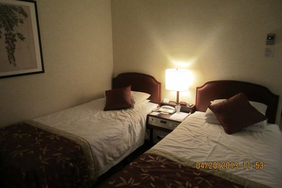 Grand Prince Hotel Takanawa: clean room