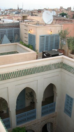 Riad Misria: Dakterras
