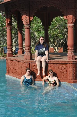 The Grand Imperial, Agra: Swim in the pool
