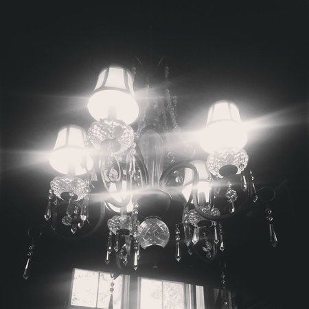 Rutherford, CA: Chandelier