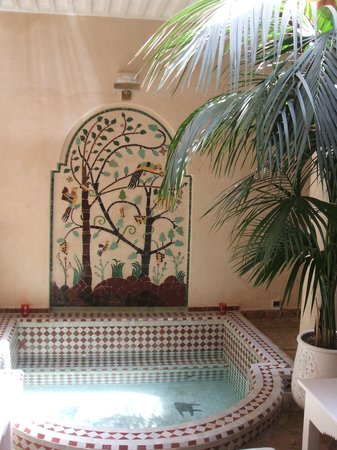 Riad les Orangers d'Alilia Marrakech: The Inner Courtyard