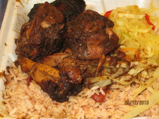 Middletown, CT: jerk chicken