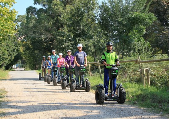 Storms River, แอฟริกาใต้: Activities - Tsitsikamma Segway Tours