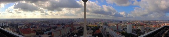 Park Inn by Radisson Berlin Alexanderplatz: View from our room