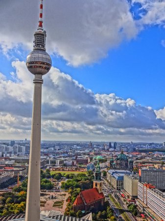 Park Inn by Radisson Berlin Alexanderplatz: View from the roof