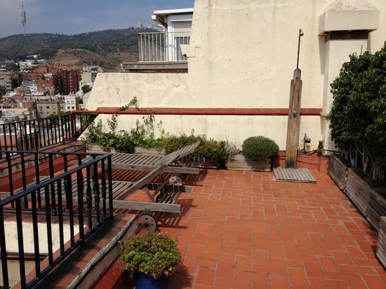 Casa Con Estilo : terrace and the old shower 